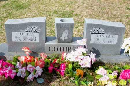 COTHREN, CHESTER C. - Cleburne County, Arkansas   CHESTER C. COTHREN - Arkansas Gravestone Photos
