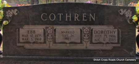 COTHREN, DOROTHY - Cleburne County, Arkansas | DOROTHY COTHREN - Arkansas Gravestone Photos