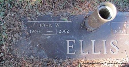 ELLIS, JOHN WAYNE (CLOSE UP) - Cleburne County, Arkansas | JOHN WAYNE (CLOSE UP) ELLIS - Arkansas Gravestone Photos