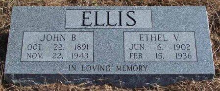 ELLIS, JOHN B. - Cleburne County, Arkansas | JOHN B. ELLIS - Arkansas Gravestone Photos