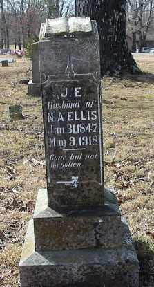 ELLIS, J E - Cleburne County, Arkansas | J E ELLIS - Arkansas Gravestone Photos