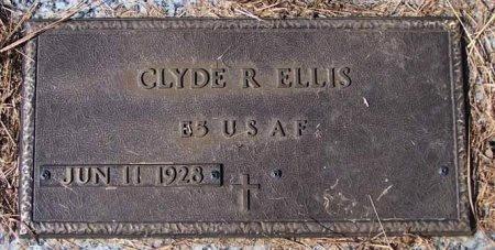 ELLIS (VETERAN), CLYDE ROY - Cleburne County, Arkansas | CLYDE ROY ELLIS (VETERAN) - Arkansas Gravestone Photos
