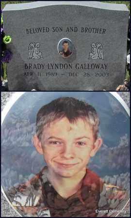 GALLOWAY, BRADY LYNDON - Cleburne County, Arkansas | BRADY LYNDON GALLOWAY - Arkansas Gravestone Photos