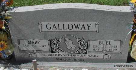 GALLOWAY, BUEL - Cleburne County, Arkansas   BUEL GALLOWAY - Arkansas Gravestone Photos