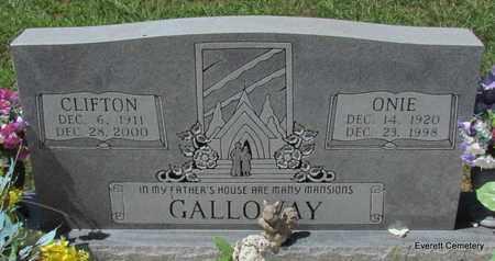 GALLOWAY, CLIFTON - Cleburne County, Arkansas | CLIFTON GALLOWAY - Arkansas Gravestone Photos