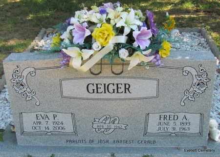 GEIGER, FRED A - Cleburne County, Arkansas | FRED A GEIGER - Arkansas Gravestone Photos