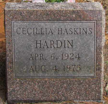HARDIN, CECILLIA - Cleburne County, Arkansas | CECILLIA HARDIN - Arkansas Gravestone Photos