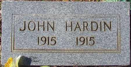 HARDIN, JOHN - Cleburne County, Arkansas | JOHN HARDIN - Arkansas Gravestone Photos