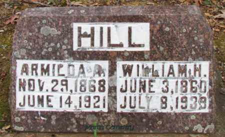 HILL, WILLIAM H - Cleburne County, Arkansas | WILLIAM H HILL - Arkansas Gravestone Photos