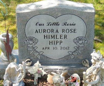 HIPP, AURORA ROSE HIMLER - Cleburne County, Arkansas   AURORA ROSE HIMLER HIPP - Arkansas Gravestone Photos