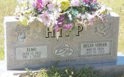 HIPP, ELMO - Cleburne County, Arkansas | ELMO HIPP - Arkansas Gravestone Photos