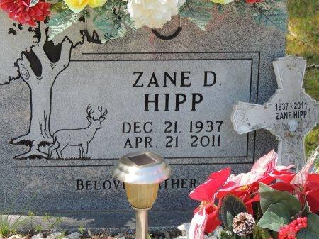 HIPP, ZANE D - Cleburne County, Arkansas | ZANE D HIPP - Arkansas Gravestone Photos