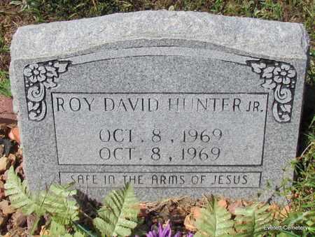 HUNTER, JR, ROY DAVID - Cleburne County, Arkansas   ROY DAVID HUNTER, JR - Arkansas Gravestone Photos