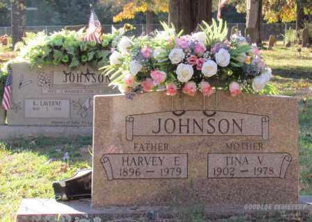 JOHNSON, TINA V - Cleburne County, Arkansas   TINA V JOHNSON - Arkansas Gravestone Photos