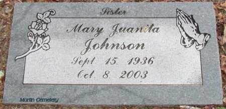 JOHNSON, MARY JUANITA - Cleburne County, Arkansas | MARY JUANITA JOHNSON - Arkansas Gravestone Photos