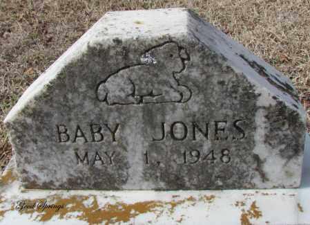 JONES, BABY - Cleburne County, Arkansas | BABY JONES - Arkansas Gravestone Photos