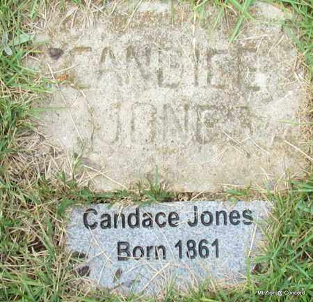 JONES, CANDACE - Cleburne County, Arkansas | CANDACE JONES - Arkansas Gravestone Photos