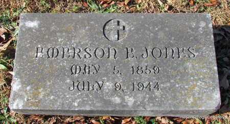 JONES, EMERSON E - Cleburne County, Arkansas | EMERSON E JONES - Arkansas Gravestone Photos