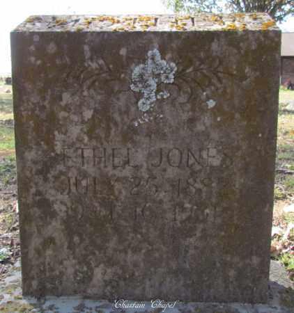 JONES, ETHEL - Cleburne County, Arkansas | ETHEL JONES - Arkansas Gravestone Photos