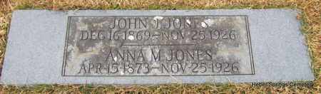 JONES, JOHN J - Cleburne County, Arkansas | JOHN J JONES - Arkansas Gravestone Photos