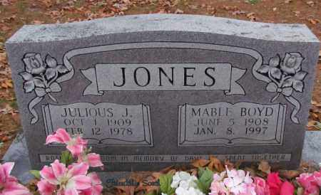JONES, JULIOUS J - Cleburne County, Arkansas | JULIOUS J JONES - Arkansas Gravestone Photos