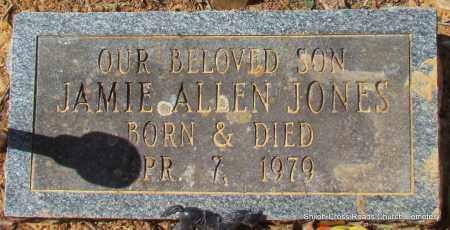 JONES, JAMIE ALLEN - Cleburne County, Arkansas | JAMIE ALLEN JONES - Arkansas Gravestone Photos