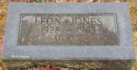 JONES, LEON - Cleburne County, Arkansas   LEON JONES - Arkansas Gravestone Photos