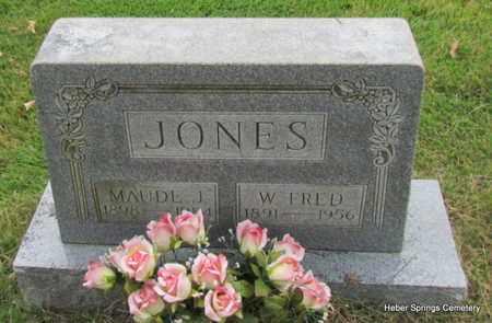 JONES, MAUDE J - Cleburne County, Arkansas | MAUDE J JONES - Arkansas Gravestone Photos