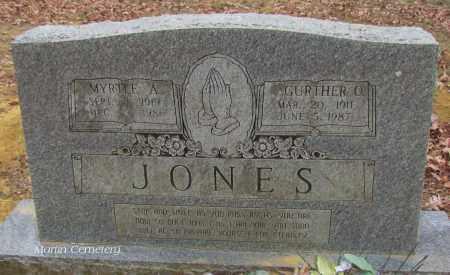 JONES, GURTHER O - Cleburne County, Arkansas   GURTHER O JONES - Arkansas Gravestone Photos
