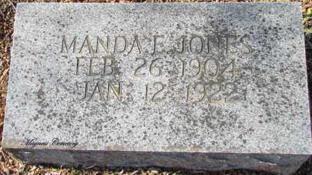 JONES, MANDA - Cleburne County, Arkansas | MANDA JONES - Arkansas Gravestone Photos