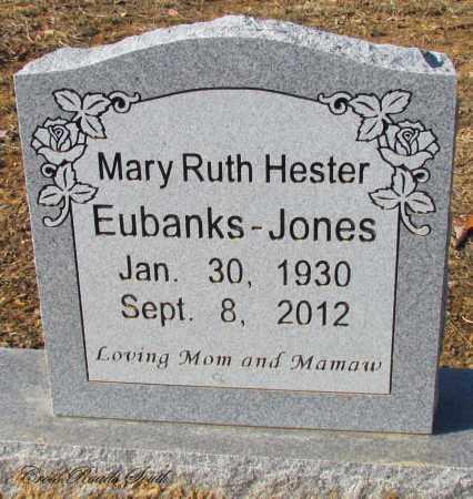 JONES, MARY RUTH EUBANKS - Cleburne County, Arkansas   MARY RUTH EUBANKS JONES - Arkansas Gravestone Photos