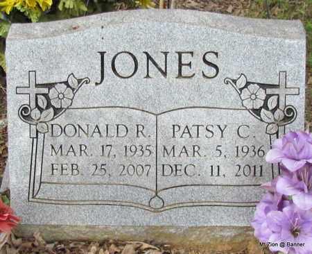 JONES, PATSY C - Cleburne County, Arkansas | PATSY C JONES - Arkansas Gravestone Photos