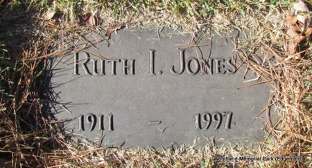 JONES, RUTH I - Cleburne County, Arkansas | RUTH I JONES - Arkansas Gravestone Photos