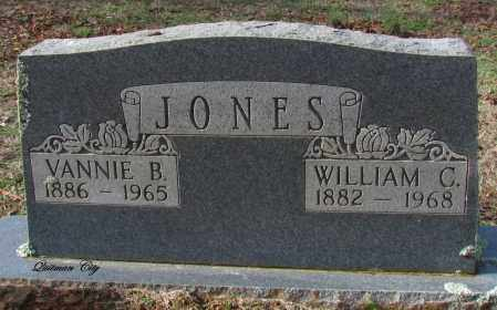 JONES, WILLIAM C - Cleburne County, Arkansas | WILLIAM C JONES - Arkansas Gravestone Photos