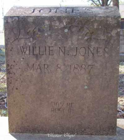 JONES, WILLIE N - Cleburne County, Arkansas | WILLIE N JONES - Arkansas Gravestone Photos