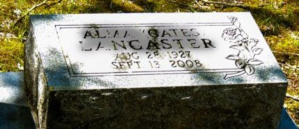 LANCASTER, ALMA J - Cleburne County, Arkansas   ALMA J LANCASTER - Arkansas Gravestone Photos