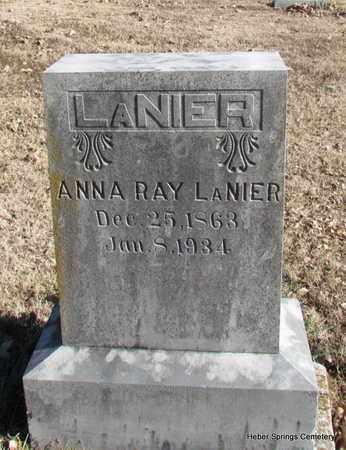 LANIER, ANNA RAY - Cleburne County, Arkansas | ANNA RAY LANIER - Arkansas Gravestone Photos