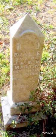 MARTIN, BUAL E - Cleburne County, Arkansas   BUAL E MARTIN - Arkansas Gravestone Photos