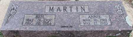 MARTIN, BEN - Cleburne County, Arkansas   BEN MARTIN - Arkansas Gravestone Photos