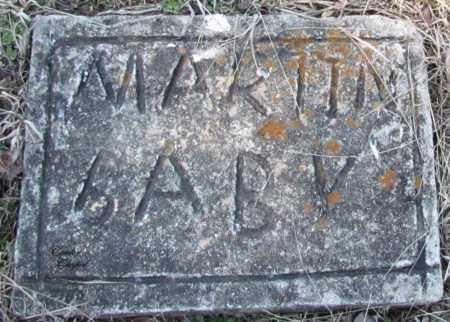 MARTIN, BABY - Cleburne County, Arkansas   BABY MARTIN - Arkansas Gravestone Photos