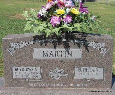 MARTIN, BOYD DWAIN - Cleburne County, Arkansas | BOYD DWAIN MARTIN - Arkansas Gravestone Photos