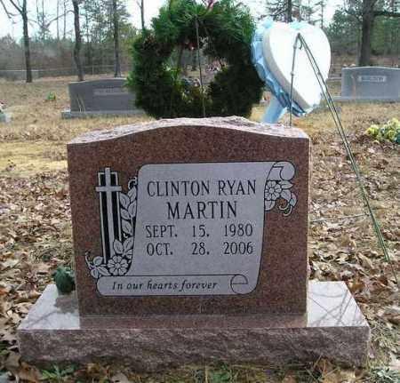 MARTIN, CLINTON RYAN - Cleburne County, Arkansas   CLINTON RYAN MARTIN - Arkansas Gravestone Photos