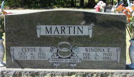 MARTIN, WINONA E - Cleburne County, Arkansas | WINONA E MARTIN - Arkansas Gravestone Photos