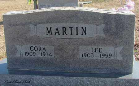 MARTIN, CORA - Cleburne County, Arkansas | CORA MARTIN - Arkansas Gravestone Photos
