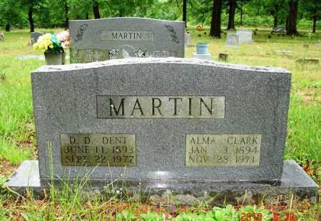 "MARTIN, D D ""DENT"" - Cleburne County, Arkansas   D D ""DENT"" MARTIN - Arkansas Gravestone Photos"