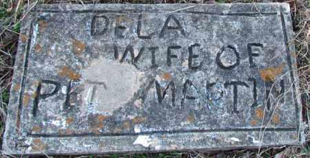 MARTIN, DELA - Cleburne County, Arkansas   DELA MARTIN - Arkansas Gravestone Photos