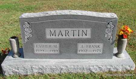 MARTIN, ESTHER M - Cleburne County, Arkansas | ESTHER M MARTIN - Arkansas Gravestone Photos