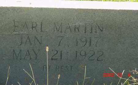 MARTIN, EARL - Cleburne County, Arkansas | EARL MARTIN - Arkansas Gravestone Photos