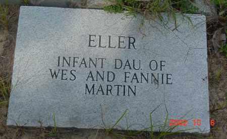 MARTIN, ELLER - Cleburne County, Arkansas | ELLER MARTIN - Arkansas Gravestone Photos