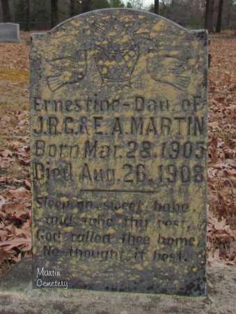 MARTIN, ERNESTINE - Cleburne County, Arkansas | ERNESTINE MARTIN - Arkansas Gravestone Photos